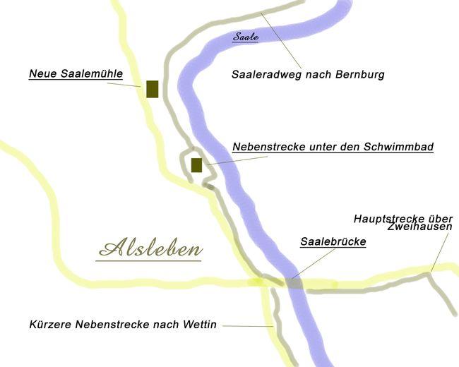 Saale Radweg Karte.Alsleben Eine Alte Schifferstadt An Der Saale Saaleradweg