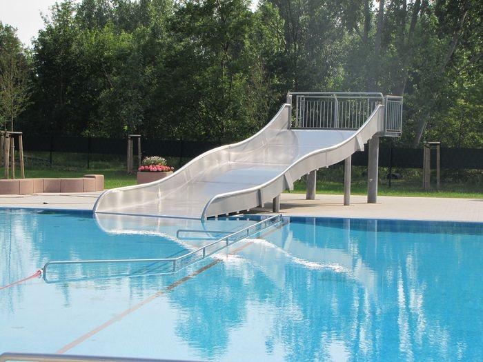 Das Schwimmbad in Alsleben
